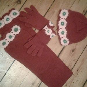Other - Hat  scarf  and gloves set